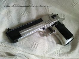 Desert Eagle sculpture by SarahRasmical