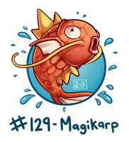 129 - Magikarp by Electrical-Socket