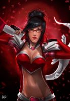 Vayne Heartseeker - League of Legends. by talitapersi