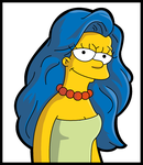 Marge And The Locks of Hair by LeeRoberts