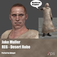 Jake Muller RE6 Desert Outfit by Adngel