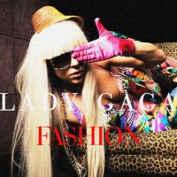 Lady Gaga Fashion Single Cover by djroxx13