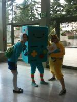 SakuraCon 2012: Adventure Time by Fainting-Ostrich
