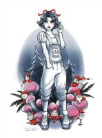 Snow White and the Seven Dwarfs by daekazu