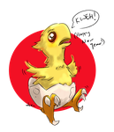 Fan Art: FFXIV Chocobo New Year by DinDeen