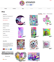 Redbubble store is OPEN by prismpixels