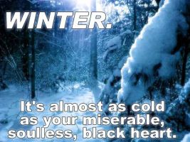 CardsThatRockYourAss - Winter by liquodous