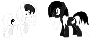 Yin and Yang Re-Design by m00nbutt