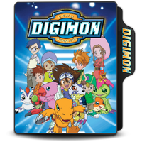 Digimon Adventure 01 Folder Icon by Maxi94-Cba