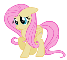 Fluttershy Vector by Shho13