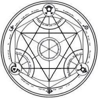 Transmutation Circle By Goukai On DeviantArt Fullmetal Alchemist Brotherhood Reverse