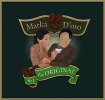 Marka D'oro Logo by 44th-Avenue