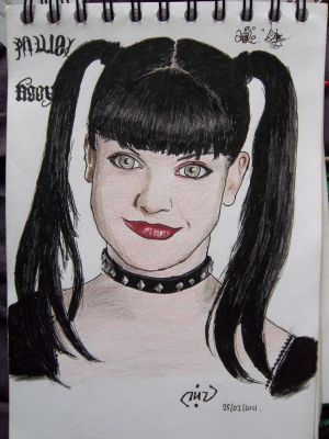 Pauley Perrette by Sevenlole
