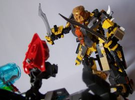 Steelax Master of Weapons (my Self-MOC) 10 by SteelJack7707
