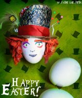Easter Hatter by jade-the-jedi