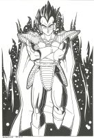 King Vegeta by Danyllex