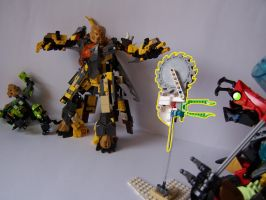 Steelax Master of Weapons (my Self-MOC) 15 by SteelJack7707