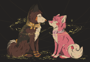 Our souls will be together by makqoi