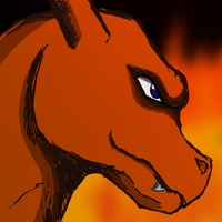 Charizard Doodle by ShroudofShadows