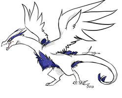 Lugia in my style by Pocketwatch-Prince
