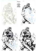 Taskmaster Ink Progression - Finch - Egli by SurfTiki