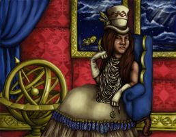 Native Steampunk California by 2becontinued-3