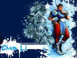 SFIV Alternate Chun Li by Vegett0