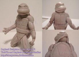 TMNTs Raphael Sculpture by ebonyraven