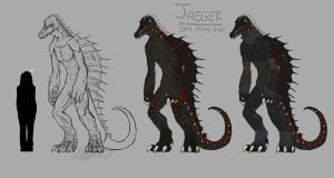 Jaeger in TMNT 2014 Movie Style by Noxivaga
