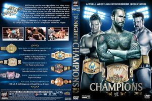 WWE Night of Champions 2012 DVD Cover V1 by Chirantha