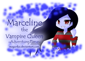 Marceline the Vampire Queen by MayuRiko