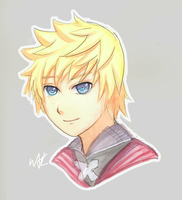 Roxas V by the-merriest