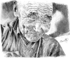 old mongolian man in balpoint by crammagnum21