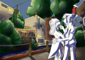 .: Commission - W.I.P. :. PiwyLullaby 2/2 by iScribbleChocotroll