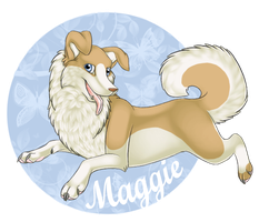 Maggie Badge by camychan