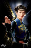 The Legend of Chun-Li by mynando