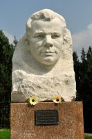 Yuri Gargarin Memorial, Zaltoust by wildplaces