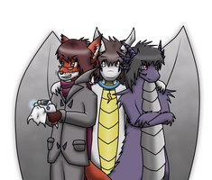 Gift: The trio by Ximeon