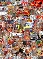 Robotnik Collage by LegendySonicFan