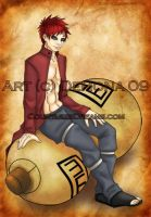 Gaara by Demonic-Demona