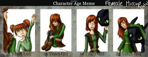EDIT age meme - girl Hiccup by silkenstarrs