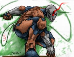 Gray fox -shawnr22- colored by Qsec
