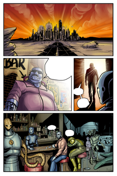 disunity Issue 2 Page 10 by BlotchComics