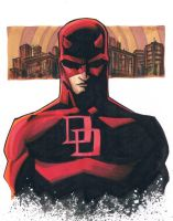 marker: Daredevil by KidNotorious