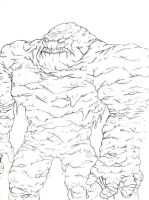 Clayface by EvilHayato