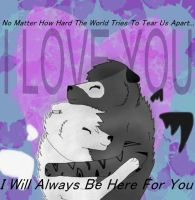 I miss you but I know... by BizTheWolfLover