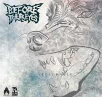 Before their eyes - Untouchable CD cover by Lewisshearer