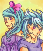 Flitter and Cloud Chaser by Dihchan
