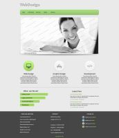 Web Design #10 by Fr1X