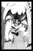 Batman-inks-web by JediDad